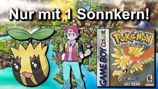 Kann man Pokemon Gold/Silber mit NUR einem SONNKERN durchspielen? (+ Keine Items in Kämpfen)