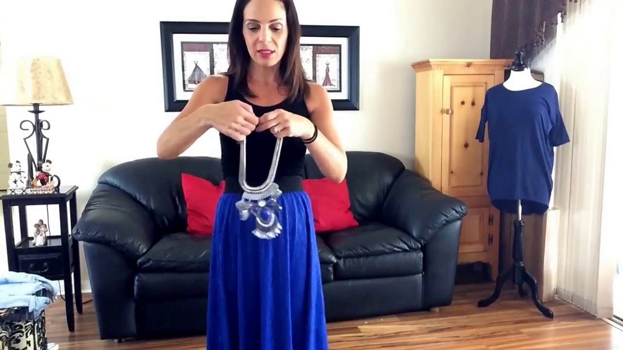 ac3e55c82 Different Ways to Style Your LuLaRoe Lucy Skirt - YouTube
