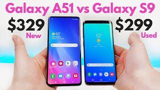 Samsung Galaxy A51 vs Samsung Galaxy S9 (Used) - Who Will Win?