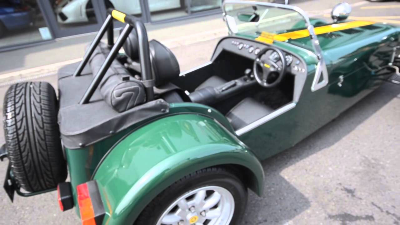 caterham super seven roadsport 125 amari super cars youtube. Black Bedroom Furniture Sets. Home Design Ideas