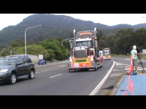 2011 i98 Convoy for Kids-Trucks-pt 1