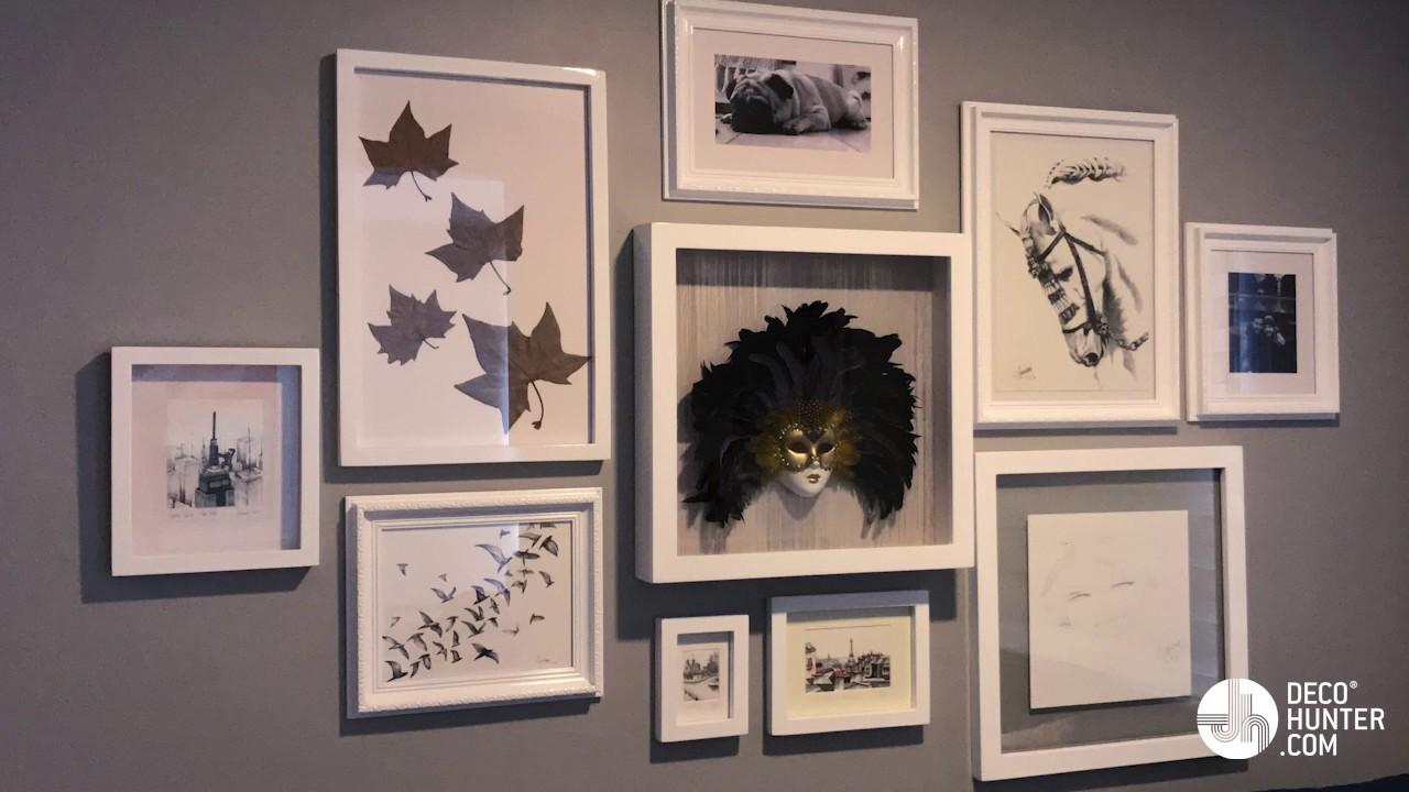 Cómo enmarcar el arte de nuestro hogar - Eloín Rivera - YouTube