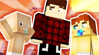 Minecraft Daycare - BABIES VISIT DERP 'S HOUSE !!