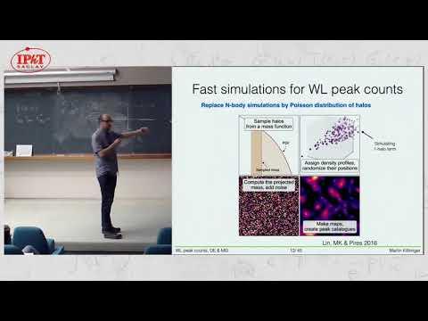 Kilbinger: Weak gravitational lensing peak counts as probe of dark energy and modified gravity