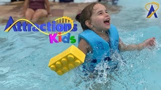 A Bricktastic Day at Legoland Florida's Water Park | Attractions Kids