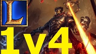 [LoL] - Viktor 1v4 QUADRA