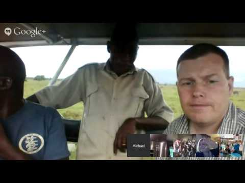 Chat with Livingstone Luyo from the Kenyan Wildlife Service Live from Lake Nakuru National Park