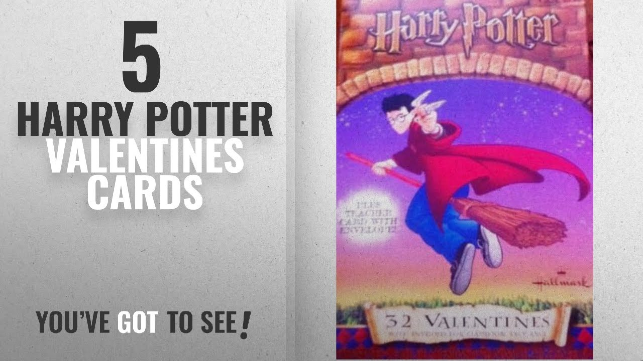 Top 10 Harry Potter Valentines Cards 2018 Harry Potter Valentines