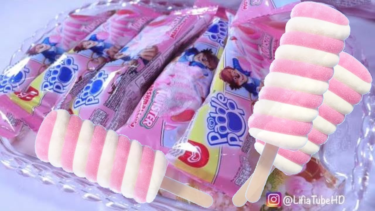 icip icip Paddle Pop Twister Marshmallow Baru Viral - ice cream review Lifia Niala #2