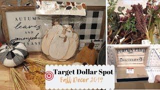 Target Dollar Spot Fall Decor and Haul 2019