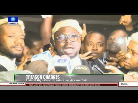 Federal High Court Grants Nnamdi Kanu Bail