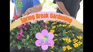 Spring Break Gardening