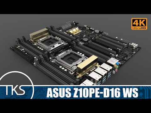 Project Sledgehammer | EP.1 - Asus Z10PE D16 WS Motherboard