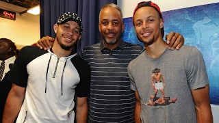 Steph, Seth, & Dell All Hit a 3-Pointer Tonight!!! | The Curry Family's Big Night