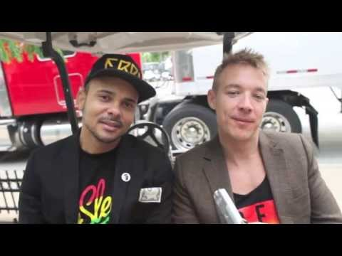 Major Lazer Interview with Samantha Lebbos