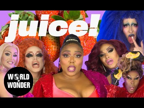 Watch 'RuPaul's Drag Race' Stars Join Lizzo in New 'Juice' Video
