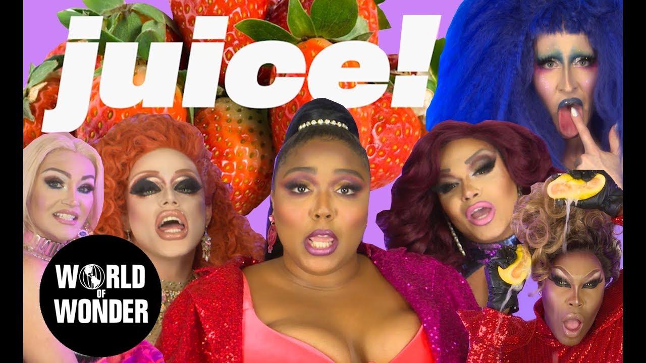Download Lizzo - JUICE Music Video feat. RuPaul's Drag Race Queens
