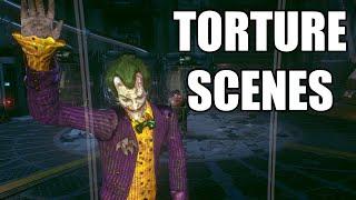 Batman: Arkham Knight - Jason Todd Torture Scenes