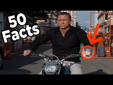 50 James Bond Facts You Should Know (Daniel Craig Edition)