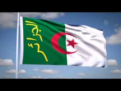 "National Anthem of Algeria (""قسماً"") Flag President of Algeria"