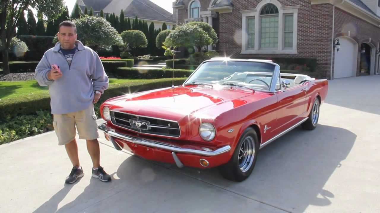 1965 Ford Mustang Convertible Classic Muscle Car for Sale in MI ...