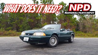 Foxbody Restoration Pt 1: A Closer Look at Our 7 Up Edition Fox Body: What does it Need?