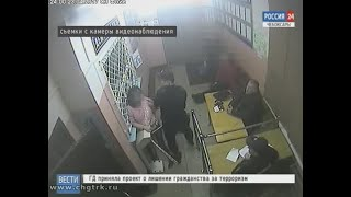 Жительница Чебоксар побила полицейских прямо в отделении