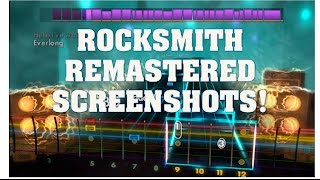 Rocksmith 2014 Remastered Screenshots!