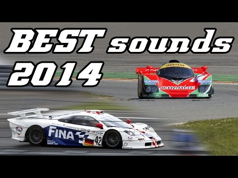 Best of 2014 Motorsport Sounds (GT, Touring, Rally, F1, Drifting, ...)