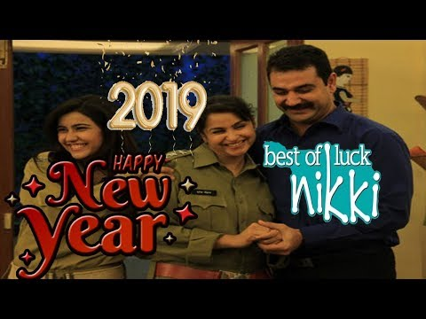 Full Episode  : New Year Special  Best Of Luck Nikki Season 4 Funny Show 2017-2018