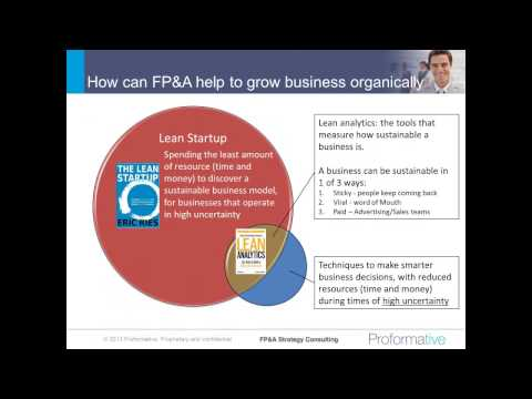FPA  Innovations in Financial Analytics to Support Organic Growth and Business Str