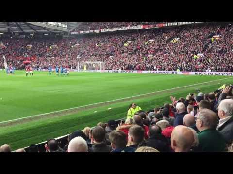 Ibrahimovic penalty miss - Manchester United vs Bournemouth