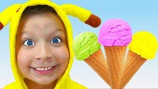 Песенка про мороженое -  Детские песни - Макс и Песни для детей