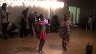 Бальные танцы Латина - выступление учеников