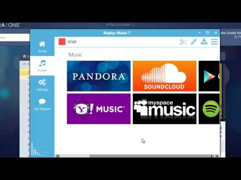 Exploring Recording Settings and Capturing from Sites Like Pandora with Replay Music 7