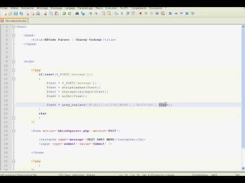 [PHP] BBCode Parser