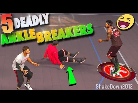 5 DEADLY Ankle Breakers & NEW Release - NBA 2K17 MyPark 3v3