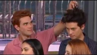 Cole Sprouse Annoying Lili Reinhart For 5 Minutes Straight ft. KJ Apa