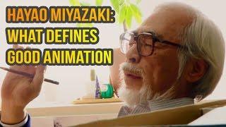 Hayao Miyazaki: What defines good animation thumbnail
