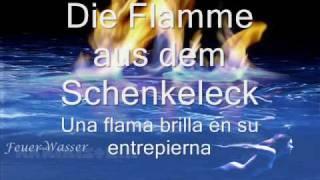 Rammstein - Feuer und Wasser (Letras Alemán - Español)