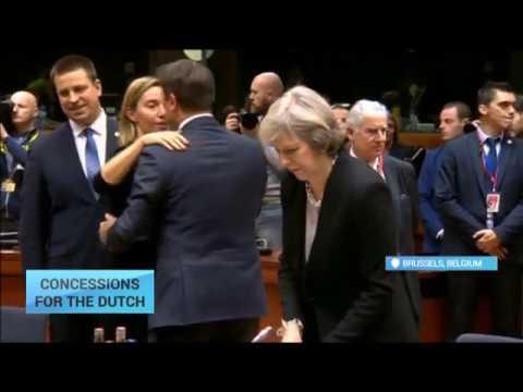 Dutch government approves draft bill on ratification EU-Ukraine deal