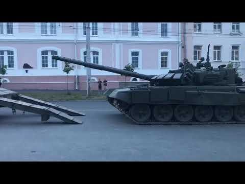 Репетиция военно-исторического парада прошла в Петрозаводске