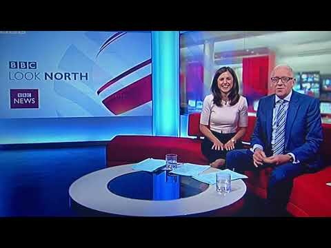 BBC Look North Harry Gration autocue