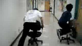 Hallway Office Chair Racing