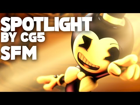 "[Bendy SFM] ""Spotlight"" by CG5 (Animation Remake) - Axie"