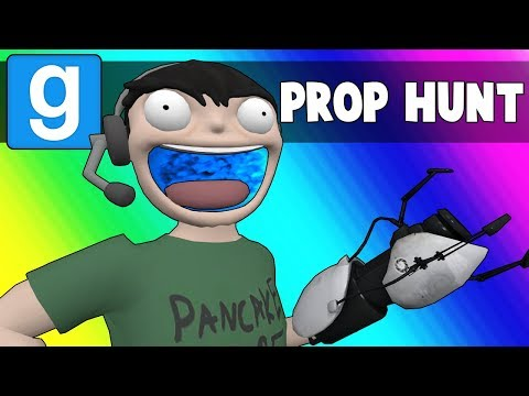 Thumbnail: Gmod Prop Hunt Funny Moments - Portal Map! (Garry's Mod)