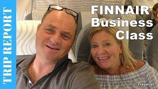 Finnair - What's Business Class like on their Airbus A320? Copenhagen to Helsinki Vantaa
