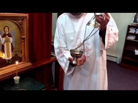 Coptic deacon how to untangle the censer