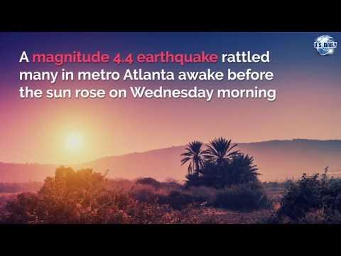 Early Morning Earthquake Shakes Atlanta Waking Residents