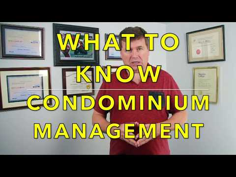 What To Know About Condominium Management